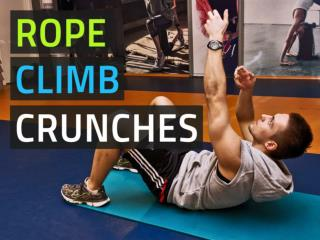 Rope Climber Crunches - Ab Exercise