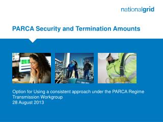 PARCA Security and Termination Amounts