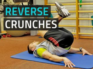 Reverse Crunches For Lower Ab Development