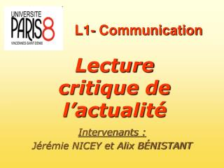 L1- Communication
