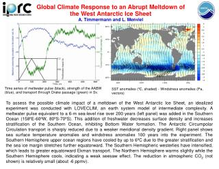 Global Climate Response to an Abrupt Meltdown of the West Antarctic Ice Sheet