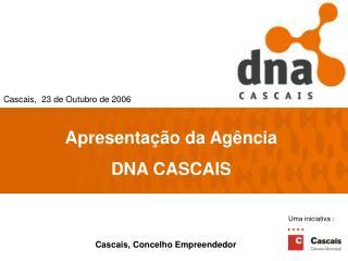 Apresentação da Agência DNA CASCAIS