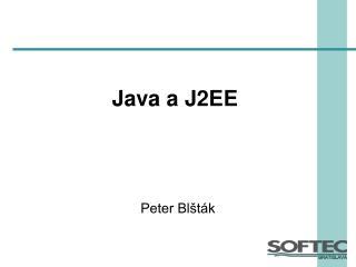 Java a J2EE