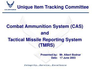 Unique Item Tracking Committee