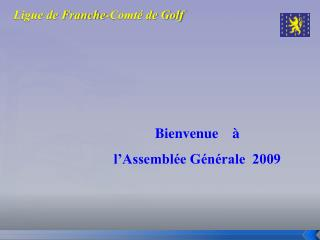 Ligue de Franche-Comt  de Golf