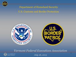 Vermont Federal Executives Association July 26, 2013