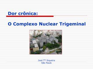 Dor crônica:  O Complexo Nuclear Trigeminal