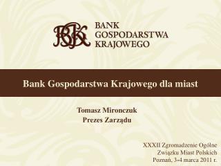 Bank Gospodarstwa Krajowego dla miast