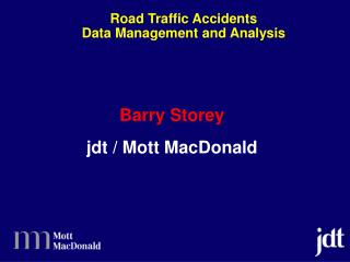 Road Traffic Accidents Data Management and Analysis