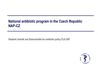 National antibiotic program in the Czech Republic NAP-CZ