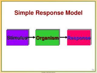 Simple Response Model