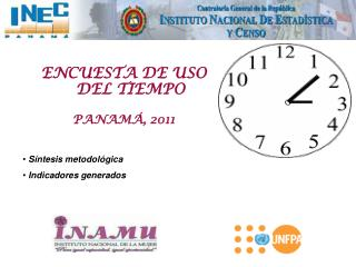 ENCUESTA DE USO DEL TIEMPO PANAMÁ, 2011