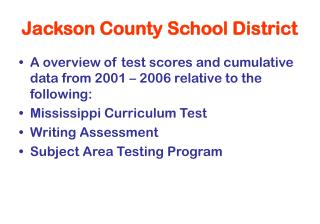 Jackson County School District