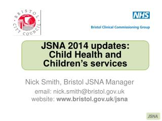 Nick Smith, Bristol JSNA Manager
