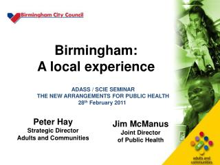 Birmingham: A local experience