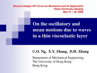 On the oscillatory and mean motions due to waves in a thin viscoelastic layer