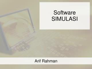 Software SIMULASI