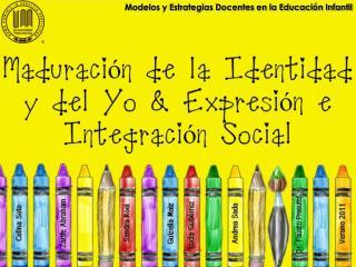 Modelos y Estrategias Docentes en la Educaci n Infantil
