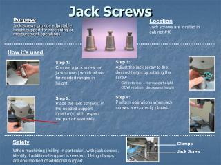 Jack Screws