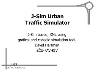 J-Sim Urban  Traffic Simulator