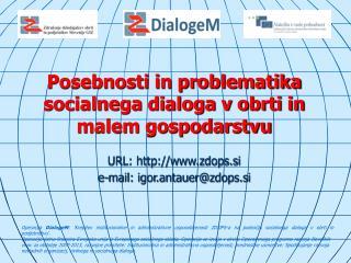 Posebnosti in problematika socialnega dialoga v obrti in malem gospodarstvu
