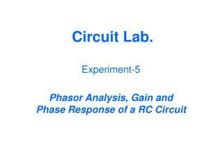 Circuit Lab.