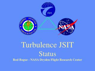 Turbulence JSIT Status Rod Bogue - NASA Dryden Flight Research Center