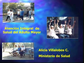 Atenci n Integral  de Salud del Adulto Mayor