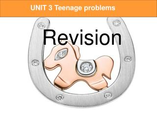 UNIT 3 Teenage problems   Revision