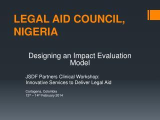 LEGAL AID COUNCIL, NIGERIA