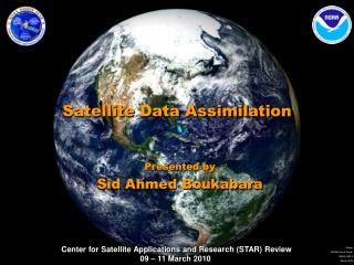 Satellite Data Assimilation