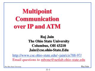 Multipoint Communication over IP and ATM