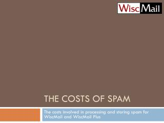 The Costs of Spam