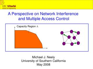 A Perspective on Network Interference  and Multiple Access Control