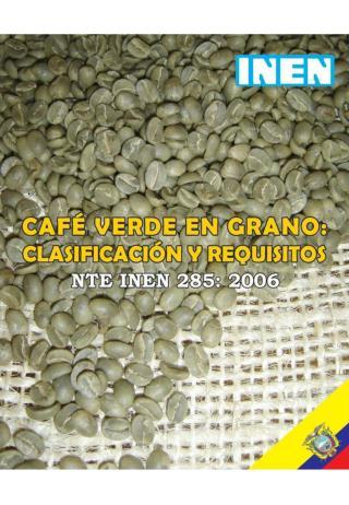 Norma-INEN-285-Cafe-verde-en-grano