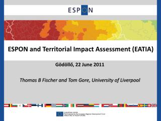 ESPON and Territorial Impact Assessment (EATIA)