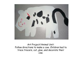 Art Project/Animal Unit: