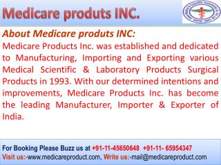 Ophthalmic Products Manufacturers