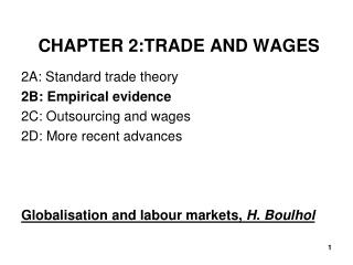 CHAPTER 2:TRADE AND WAGES