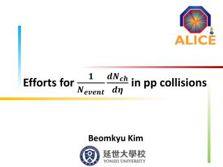 Efforts for   in  pp  collisions