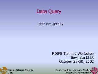 Data Query