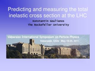 Predicting and measuring the total inelastic cross section at the LHC