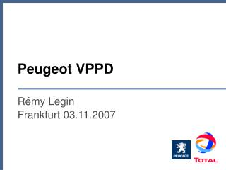 Peugeot VPPD