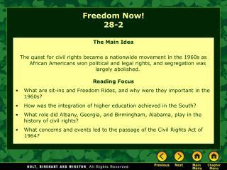 Freedom Now! 28-2