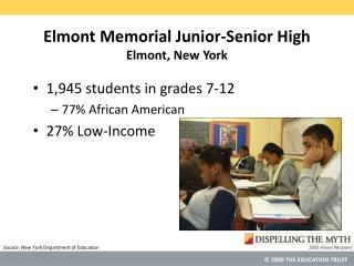 Elmont Memorial Junior-Senior High Elmont, New York