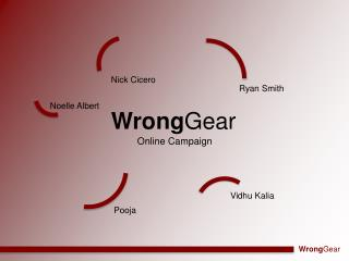 Wrong Gear
