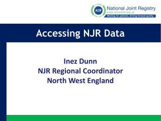 Accessing NJR Data