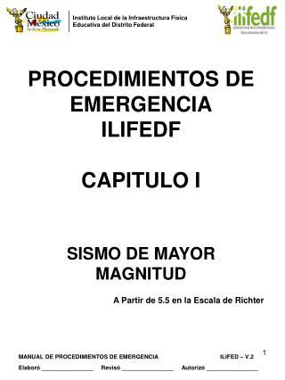 Instituto Local de la Infraestructura Física  Educativa del Distrito Federal