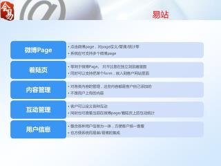 易站:微博 PAGE
