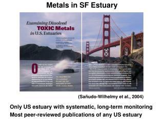 Metals in SF Estuary